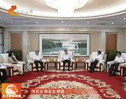 赵克志拜会全国人大常委会副委员长、 民盟中央主席张宝