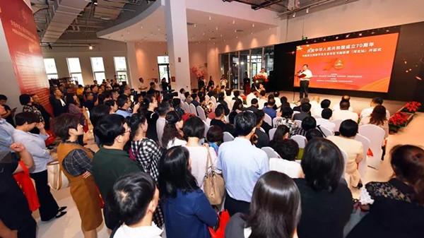 民盟华北五省市区庆祝新中国成立70周年书画联展(河北站)在廊坊市开幕